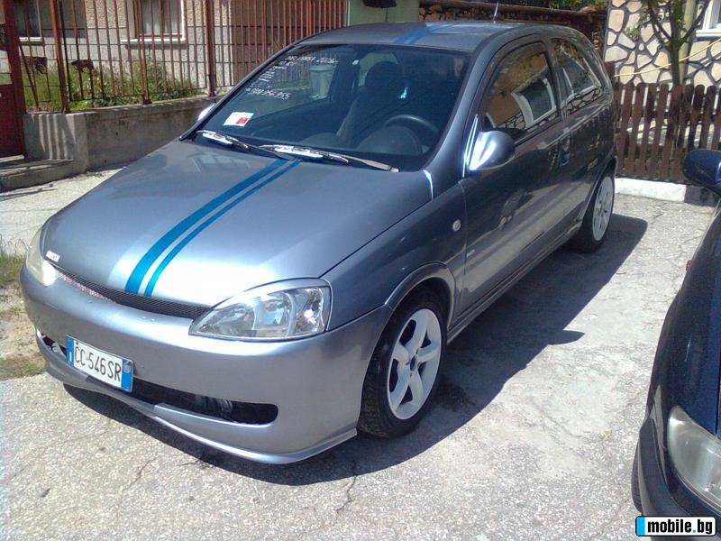 Opel Corsa 1.0i EURO4 в Болгарии