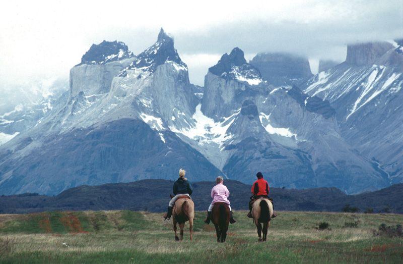 В Чили кони по ночам ходили :)