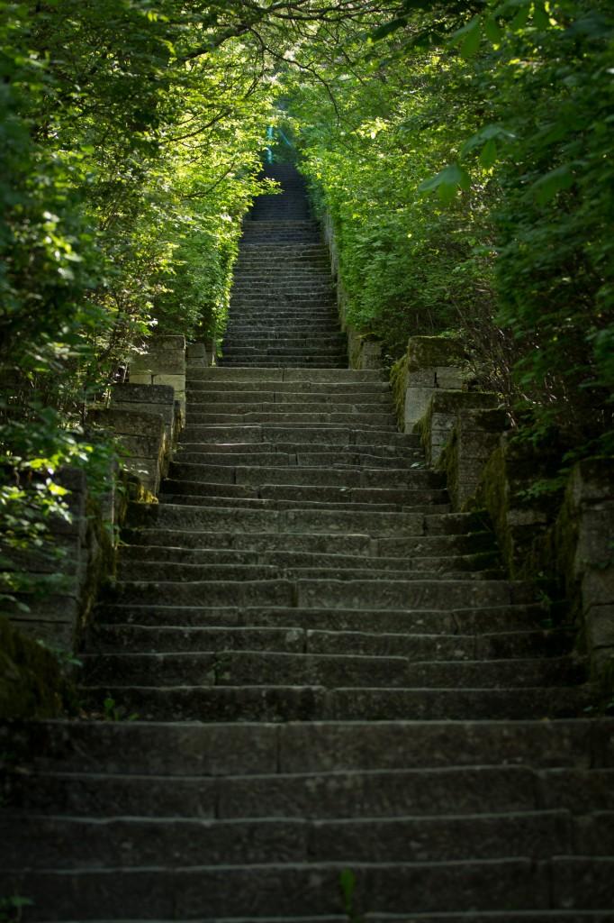 Лестница к мадарскому всаднику