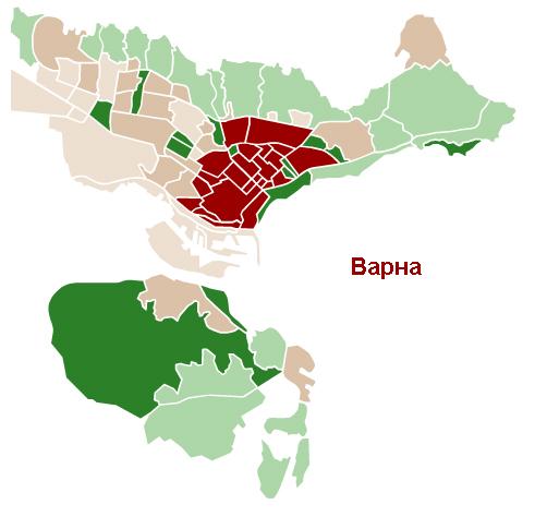 Районы в Варне