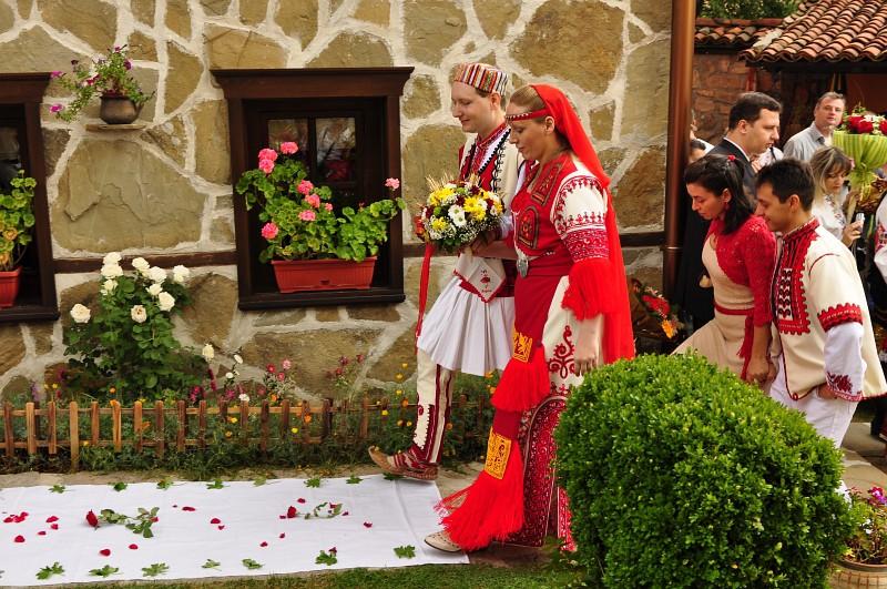 Сказка болгарской свадьбы