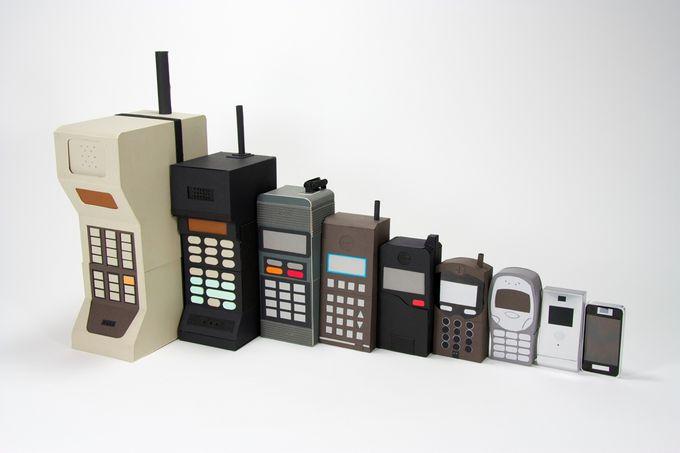 История мобильных телефонов