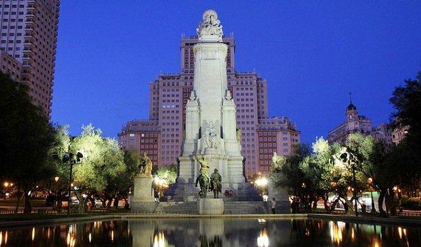 Мадрид - интересный Испанский город