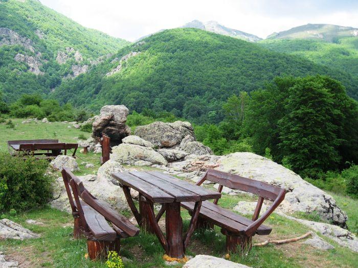 Отдых на вершине Миджур