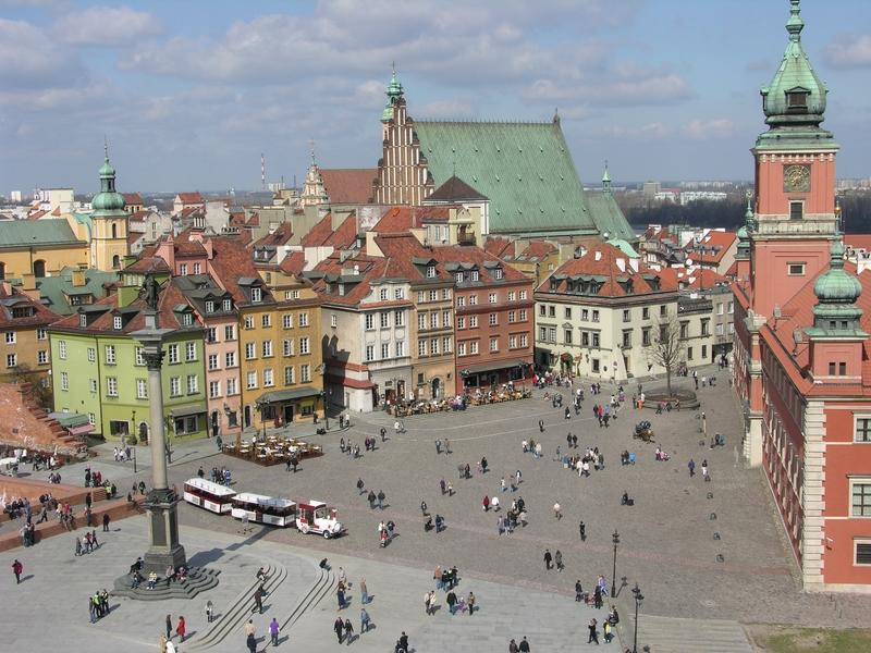 Вид с Замковой площади