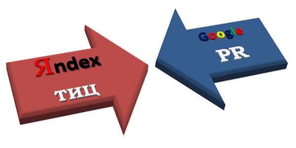 Влияние тИЦ и PR на результаты выдачи поисковых систем