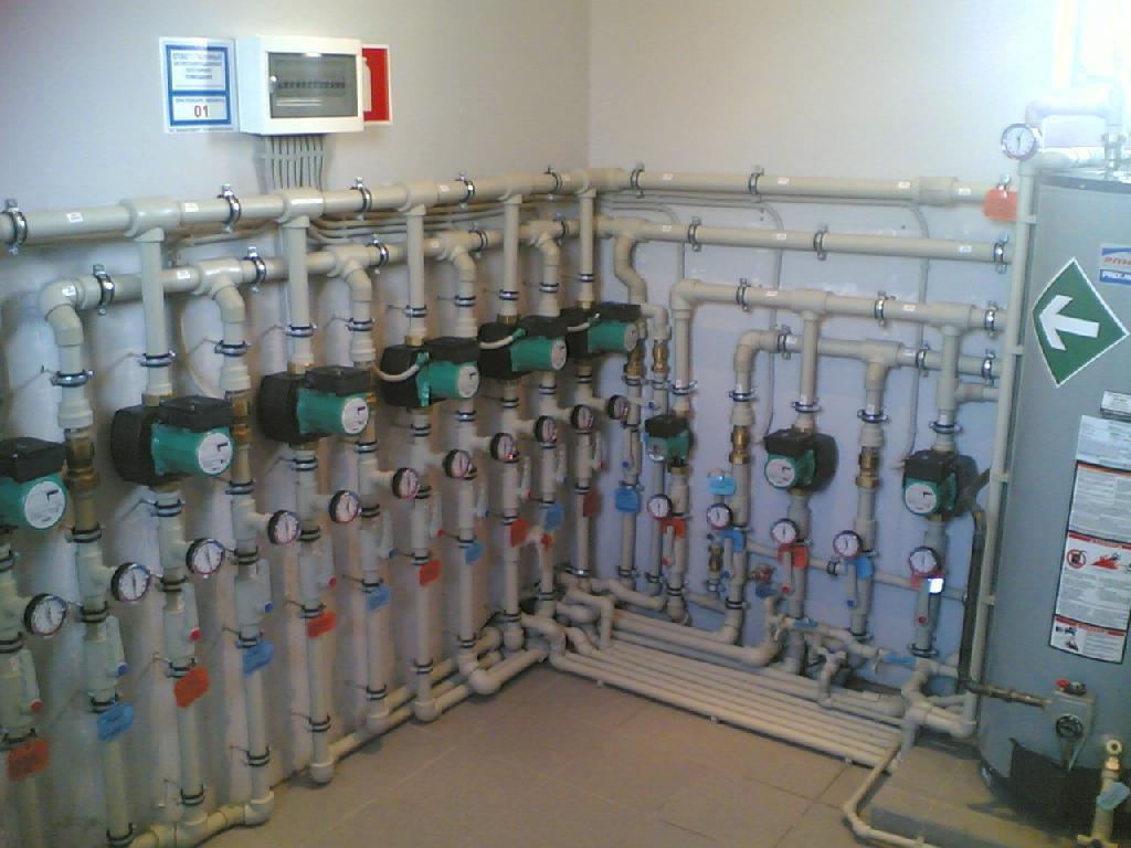 Системы отопления. Виды