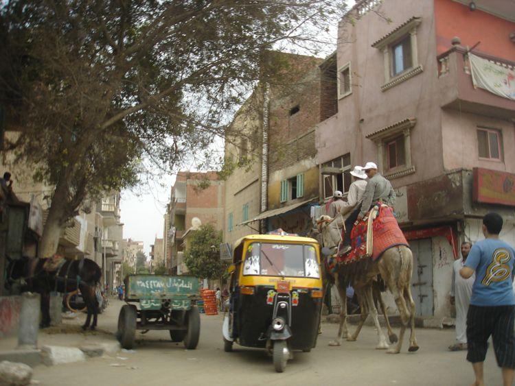 Улицы и тротуары Каира